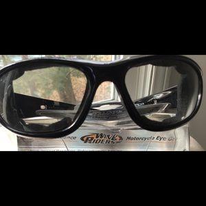 Accessories - Men's Wind Riders Motorcycle Eye Gear NEVER WORN.